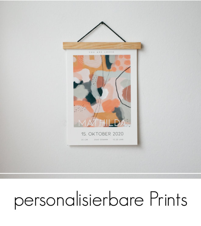 Personalisierbare Prints
